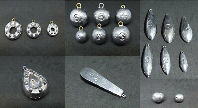 35 x 3//4oz swivel pear bomb coarse game fishing sinker weights