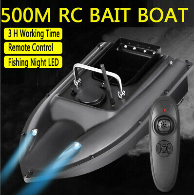 500m Remote Control Wireless Fishing Bait RC Boats Motors Lake Fish Finder