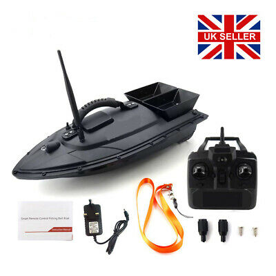 500M Wireless RC Fishing Bait Boat 2 Motors Fish Finder Single Hand Control