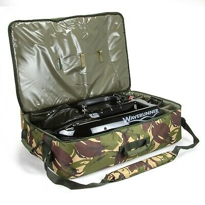 Saber Bait Boat Bag Camo Large DPM Fishing Padded Carp Carryall Luggage Tackle