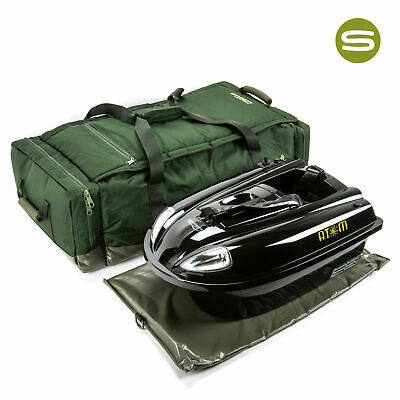 Saber Bait Boat Bag Medium Fishing Padded Carp Carryall Carry Luggage Tackle UK