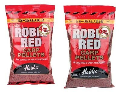 DYNAMITE BAITS - ROBIN RED PELLETS - ALL SIZES AVALABLE