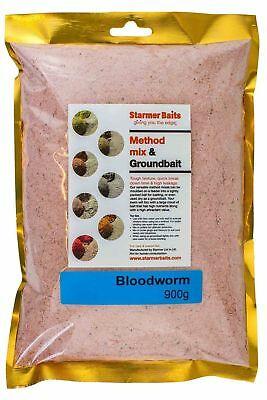 Blood worm method mix & groundbait for carp and coarse fishing.