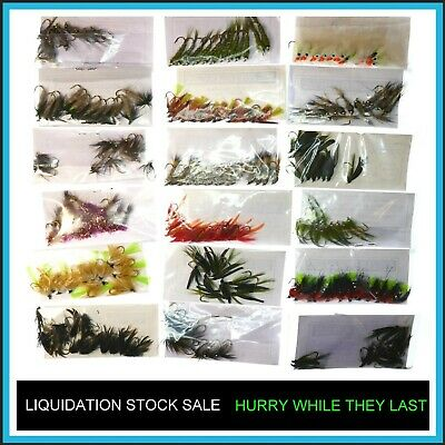 Trout Flies Fly Fishing ✅ LIQUIDATION Fly STOCK SALE ✅ x12 Fly Fishing Fly(s) ✅